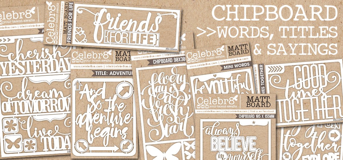 CHIPBOARD WORDS TITLES